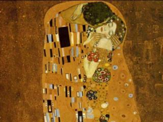The Kiss, Klimt