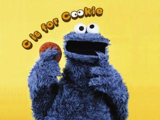 Cookie Monster -- C is for cookie
