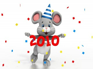 2010 Party Mouse