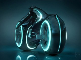 Tron: Legacy lightcycle