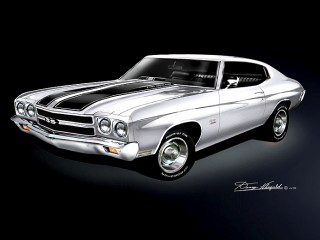 70 Chevelle SS 454 LS6