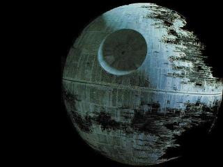 Busted Death Star