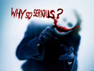 The Dark Knight - Why So Serious?