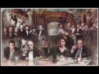 Scarface Godfather Casino Goodfellas Sopranos