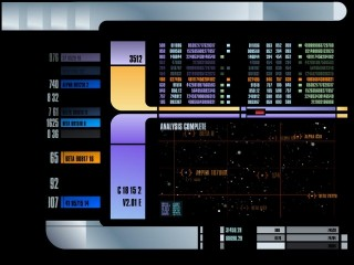 Tricorder screen