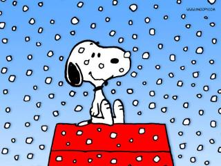 Snoopy in Snow