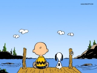 snoopy at dock