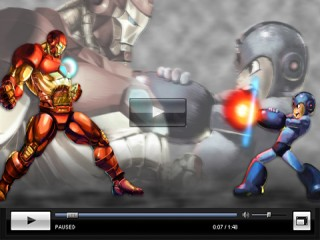 Iron Man vs Mega Man