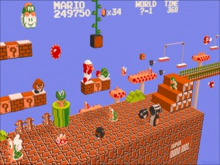 Super Mario Brothers in 3-D