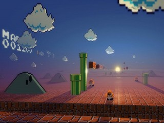 What Mario Sees