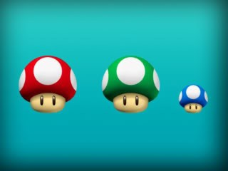 Mario Shrooms, 83xx edition!
