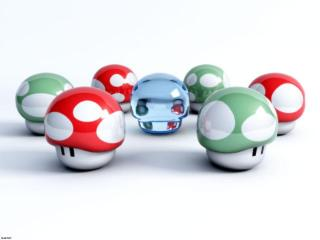 Mario Mushrooms