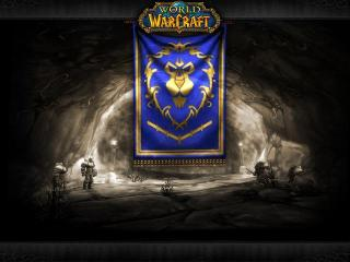 World of Warcraft - Battgounds Alliance Banner